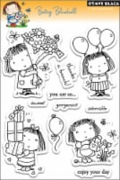 Penny Black Clear Stamps-Betsy Bluebell - 1