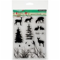 Penny Black Clear Stamps-Nature's Friends - 1