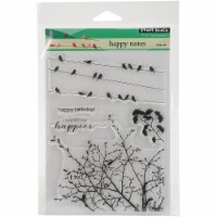 Penny Black Clear Stamps-Happy Notes - 1