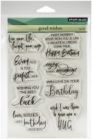 Penny Black Clear Stamps-Good Wishes 5 X6.5 - 1