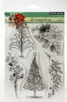 Penny Black Clear Stamps-All Wrapped Up 5 X6.5 - 1