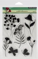 Penny Black Clear Stamps-Soulful Silhouettes - 1