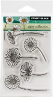 Penny Black Clear Stamps-Daisy Collection - 1