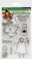 Penny Black Clear Stamps-Halloween Magic - 1