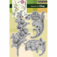 Penny Black Cling Stamps-Delicate Florals - 1