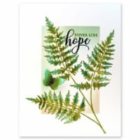 Penny Black Cling Stamps -Fresh Fern - 1