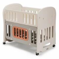 Gymax 6-in-1 Baby Bed Crib w/ 2'' Mattress & Space Storage Convertible Toddler Playard - 1 unit