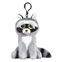 Feisty Pets Mini Rascal Rampage Raccoon Growling 5 Inch Plush Figure - 1 Unit