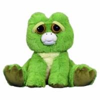 Feisty Pets Waterlogged Willie Frog Plush Figure - 1 Unit