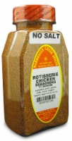 Marshalls Creek Kosher Spices ROTISSERIE CHICKEN SEASONING NO SALT 11 oz - 11 ounces