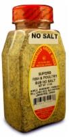 Marshalls Creek Kosher Spices SUPERB FISH AND POULTRY RUB NO SALT 11 oz - 11 ounces