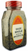 Marshalls Creek Kosher Spices,  SAGE WHOLE - 3 oz