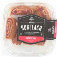 Lilly's Raspberry Vegan Rugelach
