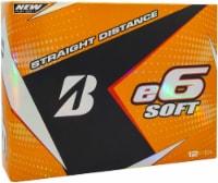 Bridgestone Golf E6 Straight Distance Golf Balls - White - 12 pk