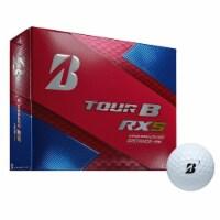 Bridgestone Tour B RXS Feel & Distance White Golf Balls Low Average Score, Dozen