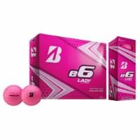 Bridgestone Lady Edition e6 SOFT High Performance/Distance Golf Balls, Pink
