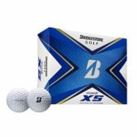 Bridgestone 2020 Tour B XS Reactive Urethane Distance White Golf Balls, 1 Dozen