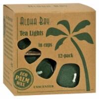Aloha Bay - Tea Light - Green - 12/.7 oz - Pack of 3