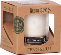Aloha Bay Feng Shui Success Candle Jar - 2.5 oz