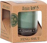 Aloha Bay  Feng Shui Candle Jar Wood