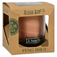 Aloha Bay - Feng Shui Elements Palm Wax Candle - Earth/Inner Peace - 2.5 oz - Pack of 3 - Case of 3 - 2.5 OZ each