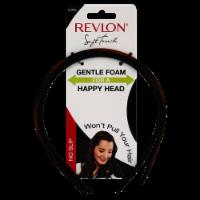 Revlon Soft Touch Gentle Foam No Slip Headbands - 2 ct