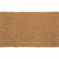 Design Imports 7723 18 x 30 in. Plain Tile Loop Coir Doormat - 1