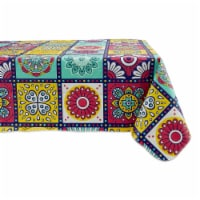 Design Imports 70347A 60 x 102 in. Morocco Summer Vinyl Tablecloth