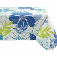 Design Imports 70350A 60 x 102 in. Tropical Bahama Vinyl Tablecloth - 1
