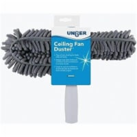 Unger  Microfiber  Ceiling Fan Duster  3 in. W x 10 in. L 1 pk - Case Of: 1; Each Pack Qty: - Count of: 1