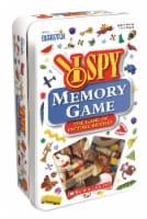 University Games I Spy Memory Travel Tin Card Game