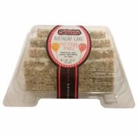 Selma's Birthday Cake Rice Crispy Treats - 10 oz
