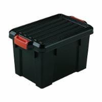 IRIS USA 21 Quart Heavy Duty Latching Storage Totes w/ Reinforced Lids (4 Pack) - 1 Unit
