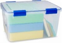 Ziploc Weather Tight Storage Box   Clear   44 Quart