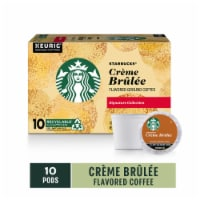 Starbucks Signature Collection Creme Brulee Flavored Ground Coffee K-Cup Pods 10 Count