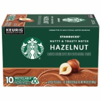 Starbucks Hazelnut Coffee K-Cup Pods 10 Count