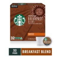 Starbucks Breakfast Blend Medium Roast Ground Coffee K-Cup Pods