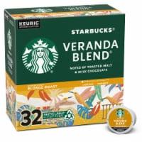 Starbucks Veranda Blend Blonde Roast Ground Coffee K-Cup Pods