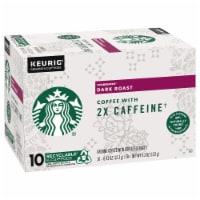 Starbucks® Plus Dark Roast K-Cup Pods - 10 ct