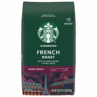 Starbucks French Roast Dark Roast Ground Coffee - 18 oz