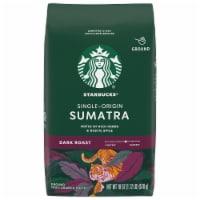 Starbucks Sumatra Dark Roast Ground Coffee - 18 oz