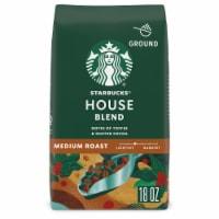 Starbucks House Blend Medium Roast Ground Coffee - 18 oz