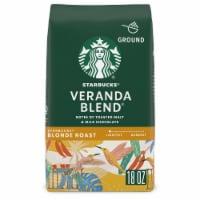 Starbucks Blonde Roast Veranda Blend Ground Coffee - 18 oz