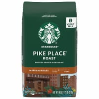 Starbucks Pike Place Roast Whole Bean Coffee - 18 oz