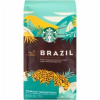 Starbucks Brazil Medium Roast Whole Bean Coffee