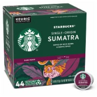 Starbucks Sumatra Dark Roast Ground Coffee K-Cup Pods