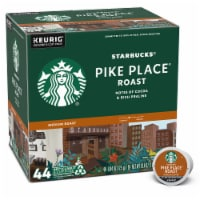 Starbucks Pike Place Medium Roast Ground Coffee K-Cup Pods