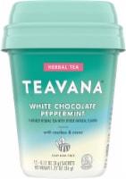 Teavana White Chocolate Peppermint Herbal Tea Sachets - 12 ct
