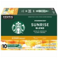 Starbucks Blonde Sunrise Blend K-Cup Pods