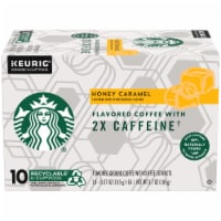 Starbucks Plus Honey Caramel Flavored Coffee K-Cup Pods